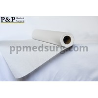 """Disposable Medical Exam Table Paper Standard Crepe White with Smooth Finish Moisture Resistant 21"""" x 225' Premium Lightweight and Comfortable Box of 5 Rolls"""