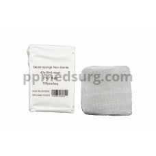 """Gauze Surgical Sponges Cotton NON STERILE Woven 8-ply High Grade Quality 2""""x2"""" Class I(a) All Purpose Pads Pack of 100"""