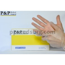 Disposable Vinyl Gloves Powder & Latex Free Medical Exam Grade Hypoallergenic Highest Quality Extra Small Size XS Box of 100