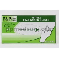 Disposable Nitrile Gloves Powder & Latex Free Medical Exam Grade Hypoallergenic Highest Quality Extra Small Size XS Box of 100