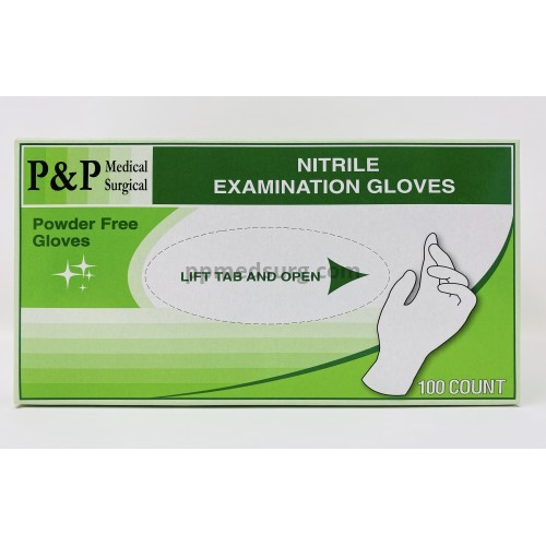 Disposable Nitrile Gloves Powder & Latex Free Medical Exam Grade Hypoallergenic Highest Quality Extra Large Size XL Case of 1000
