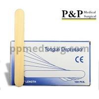 Tongue Depressors Non Sterile Non Splinter Chemical Free Wooden 6 inch High Grade Natural Birch Box of 1000