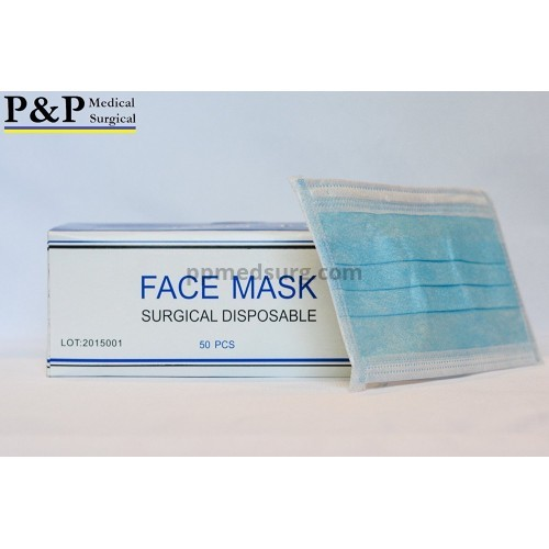Disposable Medical Face Masks Sanitary Dental Surgical Hypoallergenic with Elastic Ear Loops 3-Ply Thick Resistance to Fluid & Blood Cotton Filter for Pollen Allergies & Dust Box of 4000